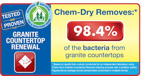 Chem Dry Of Stockton Removes 98 Allergens From Granite Countertops